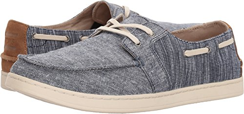 TOMS Men's Culver Lace-Up Navy Chambray Mix 10 D - Mens Tom