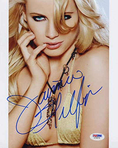 jaimie-hilfiger-signed-8x10-photo-daughter-of-tommy-autographed-psa-