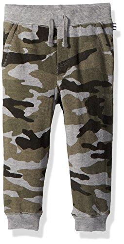 (Splendid Baby Boys' Kids Jogger Sweatpants Pants, Camo, 6/12)