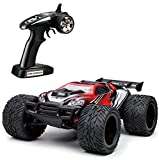 Tozo C5021 RC Buggy Car High Speed 35mph 4x4 Fast Race Cars 1:12 Scale Rtr Racing 4WD Electric Power W/2.4g Radio Remote Control off Road Truck Big Wheel Druff Destroy - Red