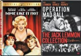 Some Like Jack Lemmony Hot 2-Movie Collection - Operation Mad Ball & Some Like It Hot 2-DVD Bundle