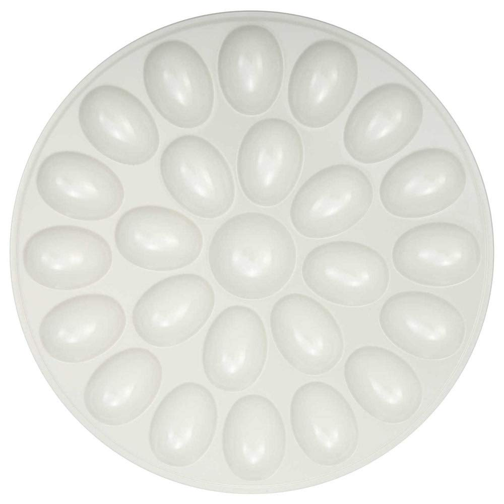 MD Group Deviled Egg Tray - White, 1'' x 2 lbs