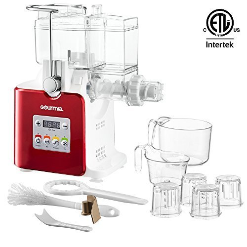 Gourmia GPM500 Complete Craft Electric Pasta Maker for Regular, Gluten Free and Whole Wheat Pasta, 8 Discs Included Free Recipe Book Included (Pasta Maker Strainer compare prices)