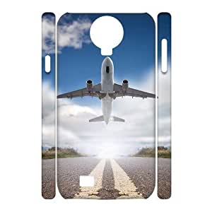 Airplane Takeoff Design Top Quality DIY 3D Hard Case Cover for SamSung Galaxy S4 I9500, Airplane Takeoff Galaxy S4 I9500 3D Phone Case by ruishername