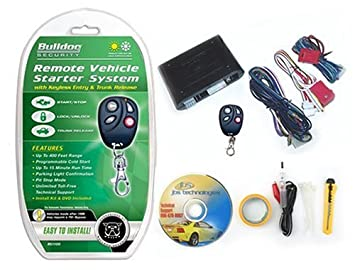 amazon com bulldog rs1100 remote starter keyless entry bulldog rs1100 remote starter keyless entry