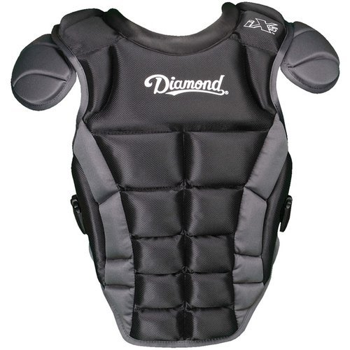 Diamond Sports iX5 Deluxe Fastpitch Chest Protector, 16-Inch,