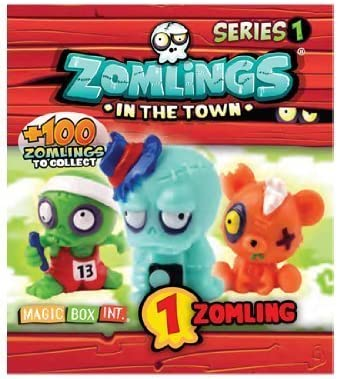 Magic Box MBX003145- Zomlings Serie 1, display de 50 sobres (importado): Amazon.es: Juguetes y juegos