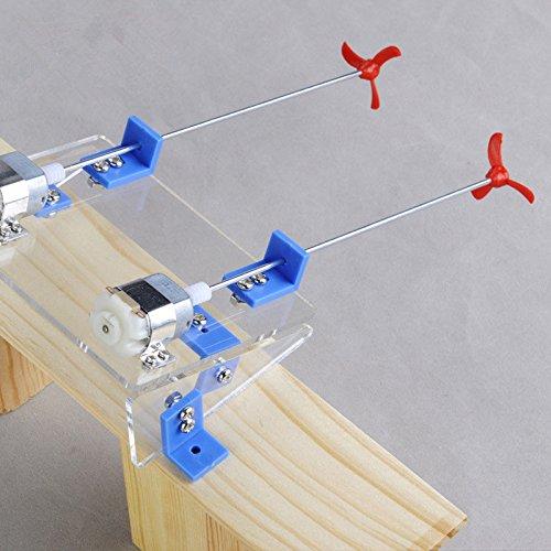 Boat Toy Kit Propeller Motor Shaft DIY Model Module Hobby Learning Hand #1638