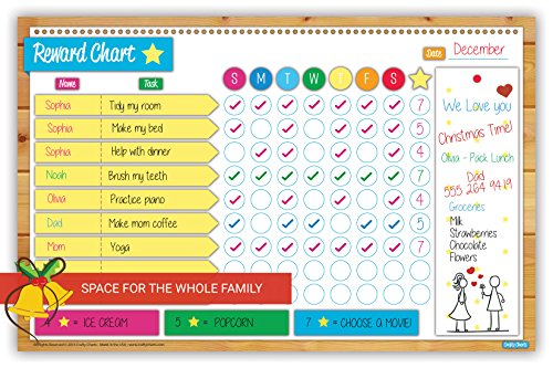 2018 Magnetic Reward And Chore Chart Flexible Dry Erase Import It