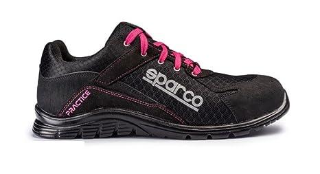 Sparco 0751748NRFU Zapatillas Negro/Rosa 48