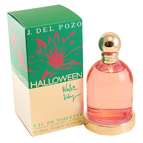 Halloween Water Lily by Jesus Del P-Ounceso For Women. Eau De Toilette Spray 3.4-Ounces -