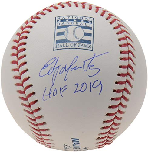 Edgar Martinez Seattle Mariners Autographed Baseball Hall of Fame Logo Baseball with