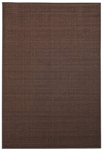 Area Rug 3x5 Solid Brown Kitchen Rugs And Mats Rubber