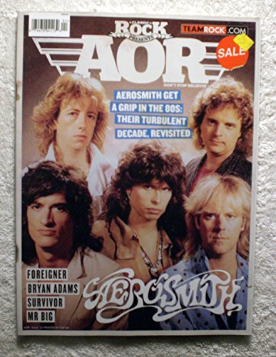 Steven Tyler, Joe Perry, Brad Whitford, Tom Hamilton & Joey Kramer - Aerosmith Get a Grip in the 80s: Their Turbulent Decade, Revisited - Classic Rock Magazine Presents - AOR - Kramer Rocks