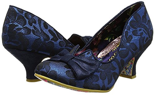 Irregular Choice Dazzle Razzle Navy Zapatos Para Mujer De La Corte
