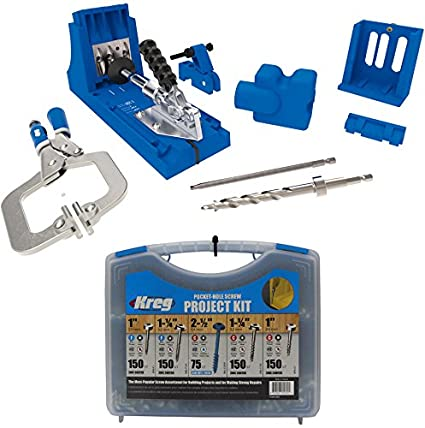 Kreg Jig K4 Master System And Pocket Hole Screw Kit In 5 Sizes