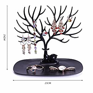 Amazoncom MyshineStyle Jewelry Display Stand Deer Tree Holder