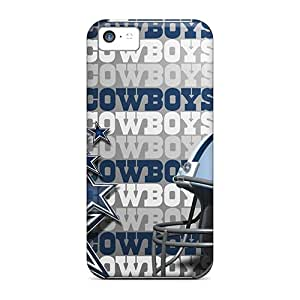 ShinnyStore Scratch-free Phone Case For Iphone 5c- Retail Packaging - Dallas Cowboys