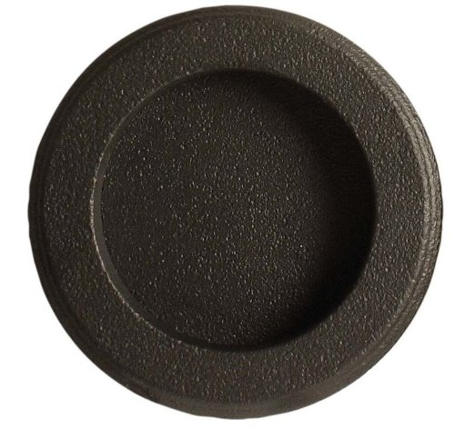 Emtek 2211 2-1/2 Inch Diameter Round Flush Door Pull, Pewter