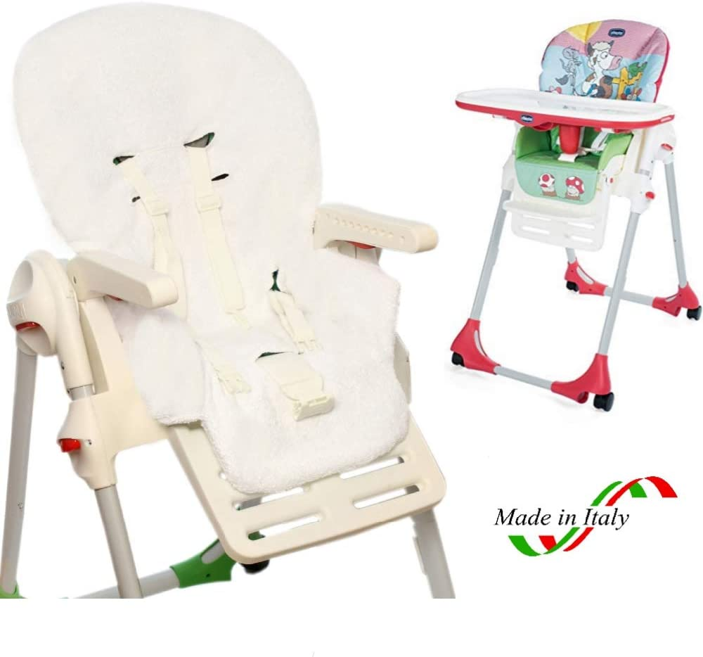 BRUCHINO/® Housse pour chaise haute Chicco Polly 100/% coton