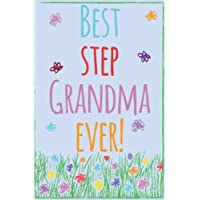 Best Step Grandma Ever!: Journal for Step Grandmothers, Blank Lined Journal Gift for Step Grandma