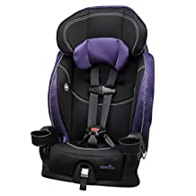 Evenflo Chase Lx Harnessed Booster Car Seat, Jasmin