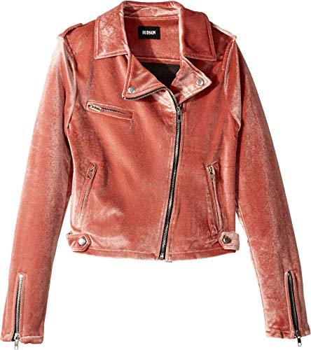 Hudson Girls' Big Jacket, Nadia Peach, M -