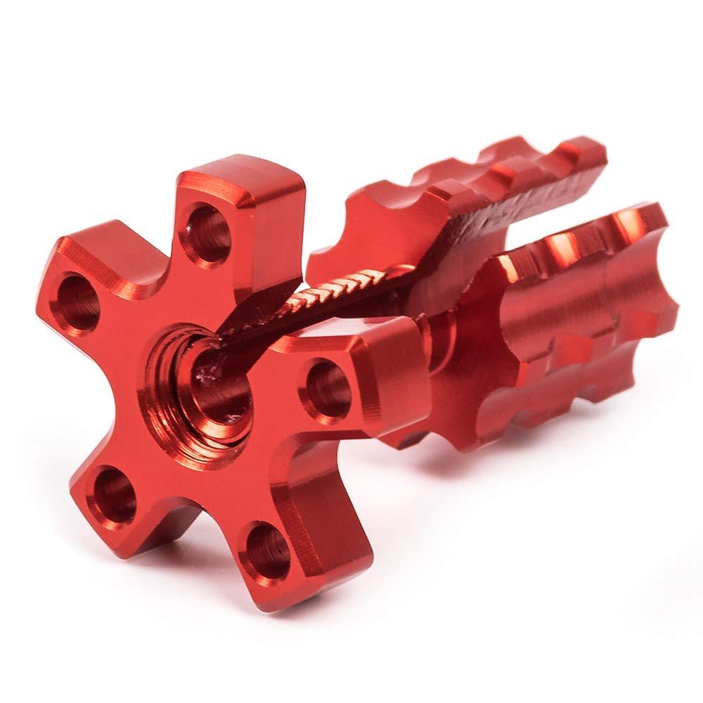 Regolatore cavo frizione moto, M8x1,25, universale, in alluminio, realizzato con macchina a controllo numerico Nawenson