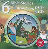 6 BIBLE STORIES WITH READ-ALONG DVD & CD