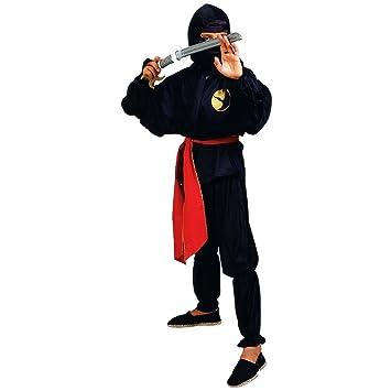 chiber Disfraces Disfraz de Ninja para Niño (Talla 10): Amazon.es ...