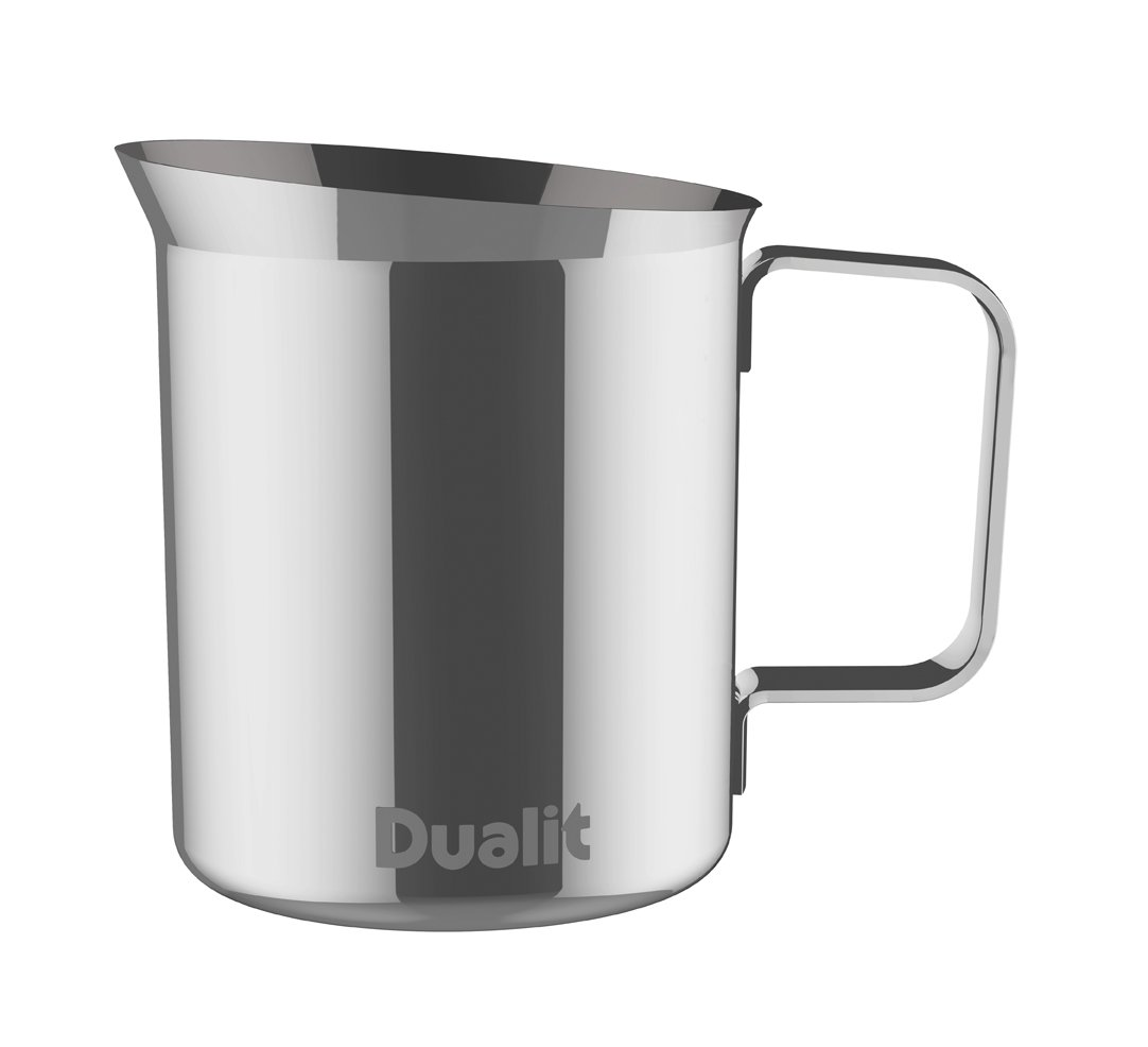 dualit milk frothing jug silver amazoncouk kitchen  home -