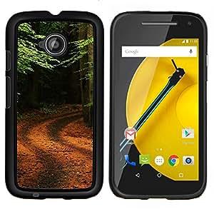For Motorola Moto E2 E2nd Gen Case , Naturaleza de la fantasía Galaxia- Diseño Patrón Teléfono Caso Cubierta Case Bumper Duro Protección Case Cover Funda