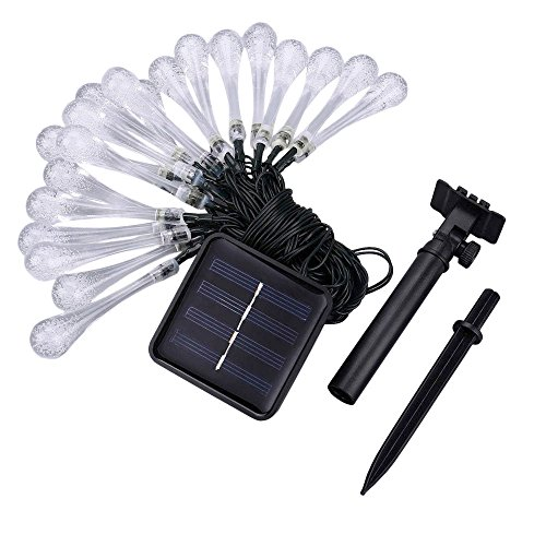 20 Colour Change Solar Party Lights in US - 7