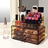 Ikee Design Light Brown Jewelry & Cosmetic Storage