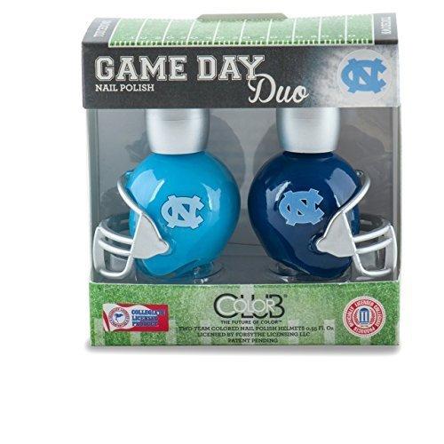 Color Club North Carolina Tar Heels Game Day Duo Nail Polish