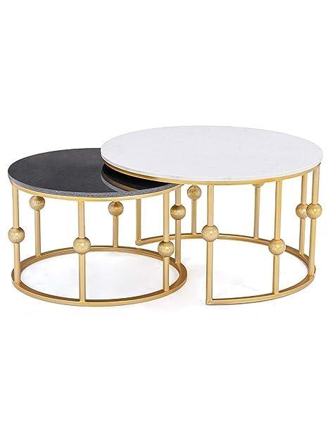 Tavolino Salotto Ferro Battuto.Tavolino Tavolino In Marmo Semplice Salotto Moderno Tavolino