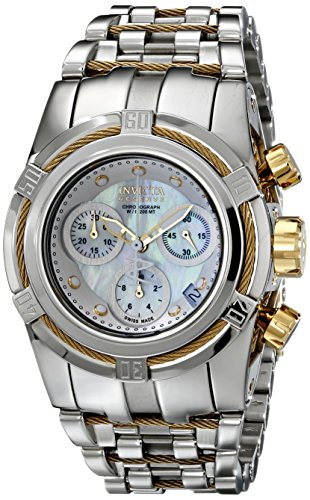 Invicta Women's 15273 Bolt Analog Display Swiss Quartz Silver Watch