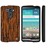 Beyond Cell ??For LG G3 (D850/VS985/D851/LS990) (T-mobile,AT&T,Sprint,Verizon,International)Beyond Cell ??Premium Protection Slim Light Weight 2 piece Snap On Non-Slip Matte Hard Shell Rubber Coated Rubberized Phone Case Cover With Design - Wood Texture Light Design - Retail Packaging