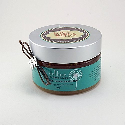 In The Weeds Natural Skin Care 4 oz Dollface Organic Face Scrub/Mask