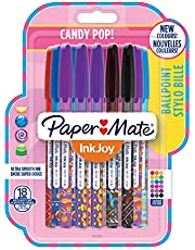 PaperMate InkJoy 100 CAP Capped Ball Pen with 1.0 mm Medium Tip