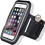 Iphone De Apple 6s Best Deals - Cell Phone Armband: Best Running Sports Arm Strap Holder Case For Sport Mobile Exercise Workout Band Pouch For Apple iPhone 6 6S Plus SE iPod Touch/ All Android Samsung Galaxy S5 S6 S7 Edge Note 5