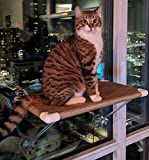 Ultimate Cat Perch - No Hanging Wires & Stronger for Increased Reliability (holds 80 pounds) Larger Image