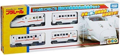 Tomica PraRail Shinkansen Series New 800 (6-Car Set) by Takara Tomy