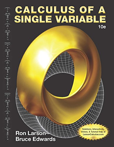 Calculus of a Single Variable (Calculus Of A Single Variable 10th Edition Ebook)