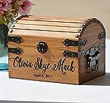 New Baby Gift Box, Infant Keepsake Box, Small Memory Trunk, Boho Shower Gift for Mom Ideas, Custom Engraved Treasure Chest For Newborn