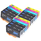 GC-Printing 18 Pack Compatible Ink Cartridges Replacement for 564XL 564 for Officej 4620 Photosmart 6515 5520 6520 7510 7520 Deskjet 3520 3522 Printer (6 Black 3 Photo Black 3 Cyan 3 Magenta 3 Yellow)