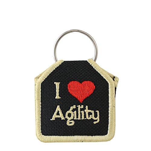 The Tag Bag - Dog Tag Silencer (I Love Agility) ()