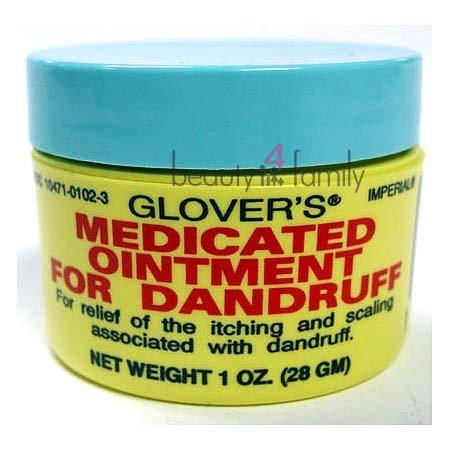 Glovers Medicated Ointment for Dandruff 3.5 oz Pack of 4