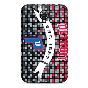 Fashionable BVl116Cnle Galaxy S4 Case Cover For Detroit Pistons Protective Case