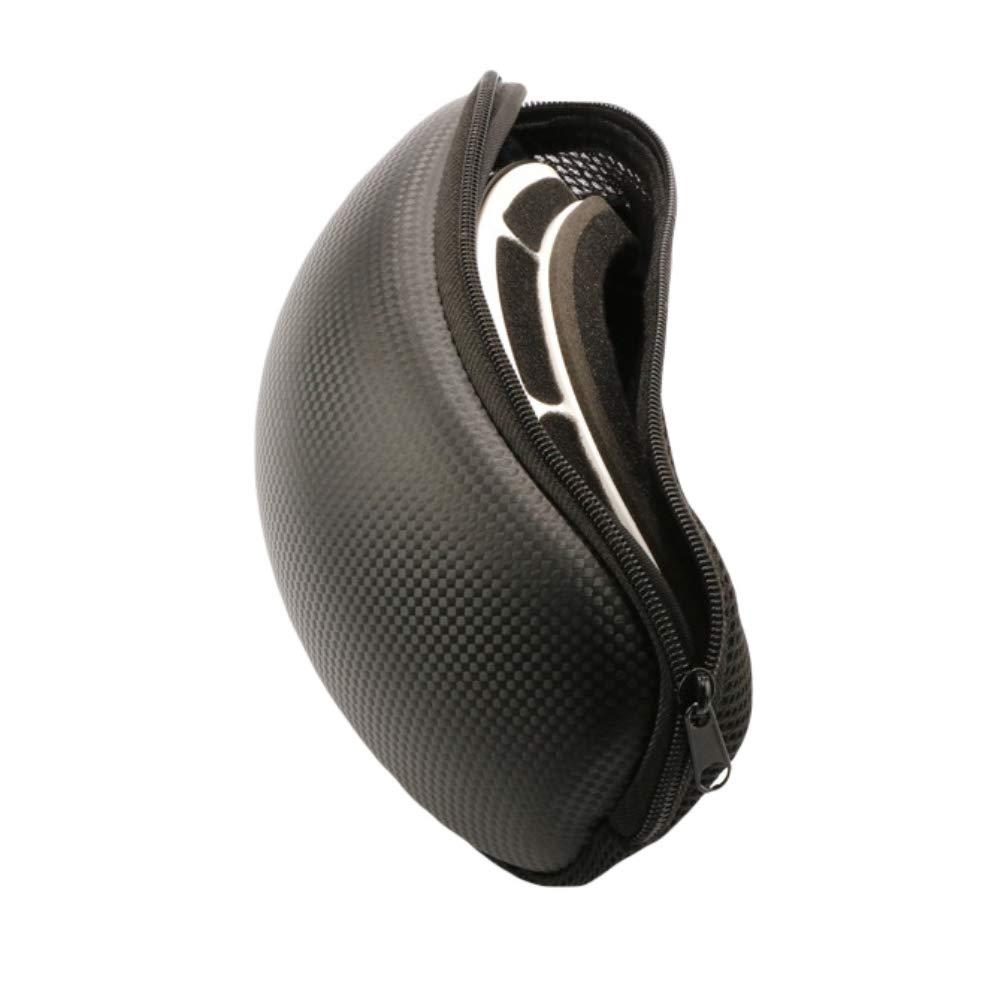 SimpleMfD Custodia protettiva per occhiali da sci per sci portatile Custodia per occhiali da sci Custodia rigida per occhiali Occhiali per snowboard per sport invernali Custodia antiurto
